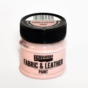 Fabric and leather paint 50ml - bordeaux P34804