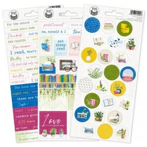 Stickers -  The Garden of Books 03, 10,5 x 23cm P13-GAR-13