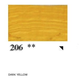 Oil paint Vincent 60 ml - dark yellow 990206