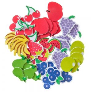 Foam stickers 45 pcs - Fruits KSPI-422