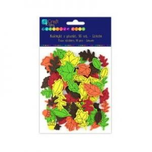 Foam stickers 90 pcs - Leaves KSPI-306