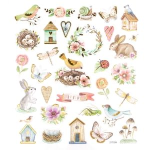 Stickers 31 pcs - Spring time DPNK-120