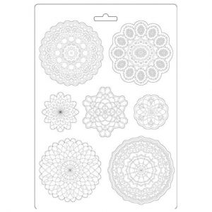 Soft Moulds A4 - Passion round lace K3PTA494