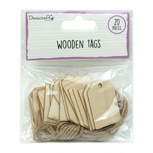 Wooden Tags 20 pcs. DCBS259
