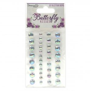 Dovecraft Adhesive Butterfly Kisses Glitter Gems, DCDOT055