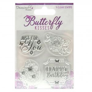 Clear stamp Dovecraft - Butterfly Kisses DCSTP186