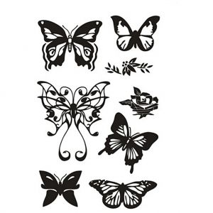 Clear stamps 11x15.5cm - Butterflies C240021