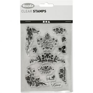 Clear stamps 11x15.5cm - Forever C240019