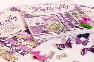 Simply Creative Mini Bows 16 pcs - Butterfly Kisses DCRBN051