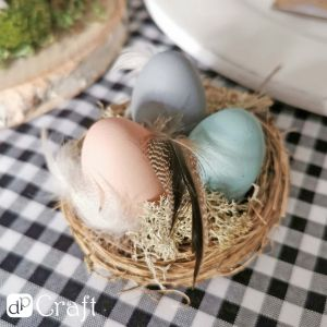 Eggs, 16 pcs, dusty pastel DPWL-025