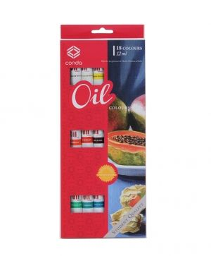 Oil Colour Set 18x12ml - A14502