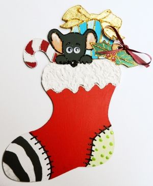 MFD figurine Christmas boot - IDEAN0365