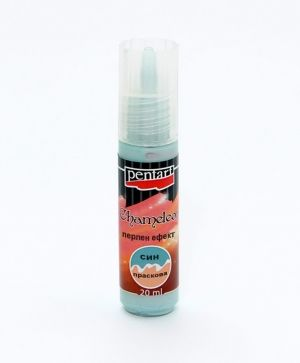 Chameleon pearl effect acrylic paint 20 ml - blue-peach P3526