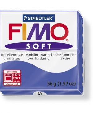 FIMO soft modelling clay 56g - brilliant blue 33 G802033