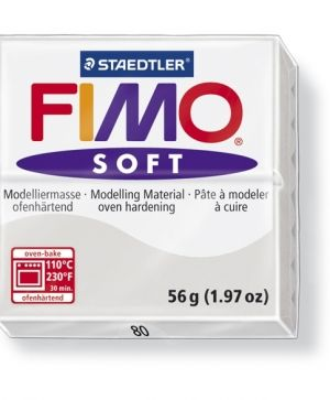 FIMO soft modelling clay 56g - dolphin grey 80 G802080