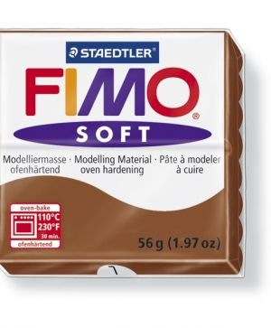 FIMO soft modelling clay 56g - caramel 7 G80207