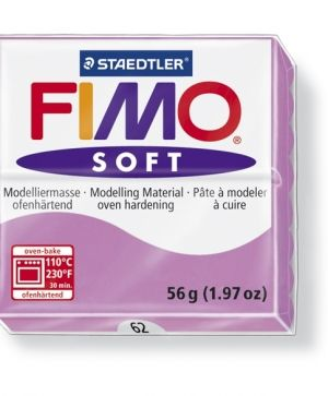 FIMO soft modelling clay 56g - lavender 62 G802062