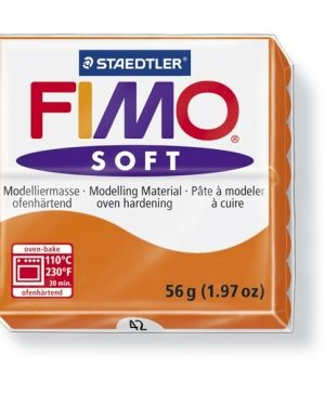 FIMO soft modelling clay 56g - tangerine 42 G802042