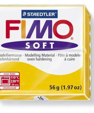 FIMO soft modelling clay 56g - sun yellow 16 G802016