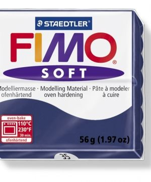 FIMO soft modelling clay 56g - windsor blue 35 G802035