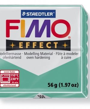 FIMO effect modelling clay 56g - translucent green 504 G8020504