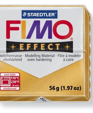 FIMO effect modelling clay 56g - metallic gold 11 G802011