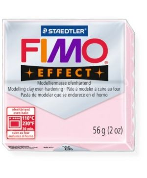 FIMO effect modelling clay 56g - gemstone rose quartz 206 G8020206