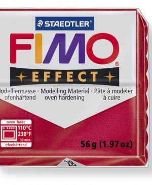 FIMO effect modelling clay 56g - metallic ruby red 28 G8020302