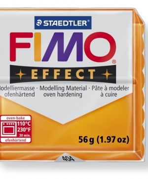 FIMO effect modelling clay 56g - translucent orange 404 G8020404