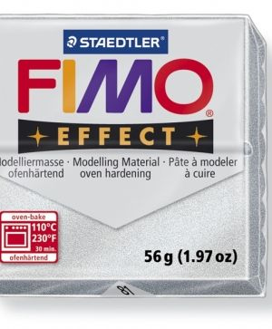 FIMO effect modelling clay 56g - metallic silver 81 G802081