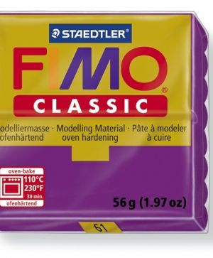 FIMO classic modelling clay 56g - violet 61 G800061
