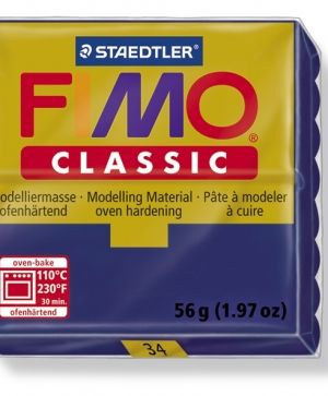FIMO classic modelling clay 56g - navy blue 34 G800034
