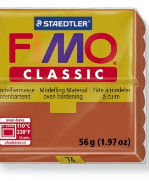 FIMO classic modelling clay 56g - terracotta 74 G800074