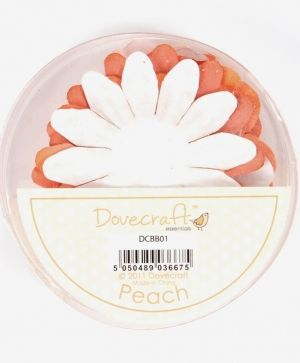 Paper blossoms 24pcs - Peach DCBB01-08