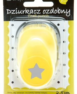 Craft punch 2,5cm - Star JCDZ-110-019