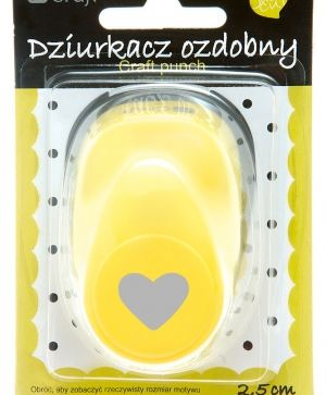 Craft punch 2,5cm - Heart JCDZ-110-023