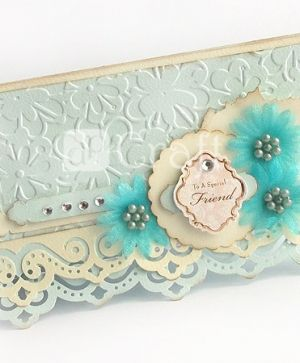Decorative border punch 6,3x2,9cm - Ornament JCDZ-608-003