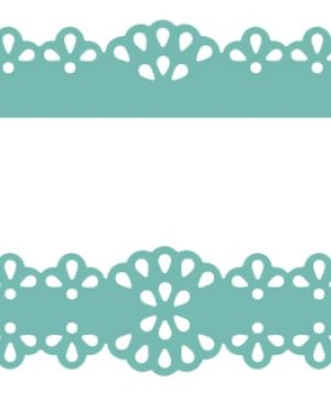 Multifunctional border punch 5cm - Doily JCDZ-609-003