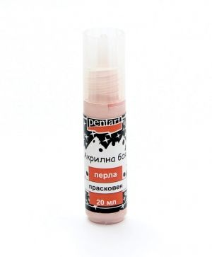 Acrylic paint pearl 20ml - apricot P2321