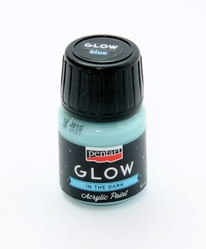 Acrylic paint glow in the dark 30 ml - P16484