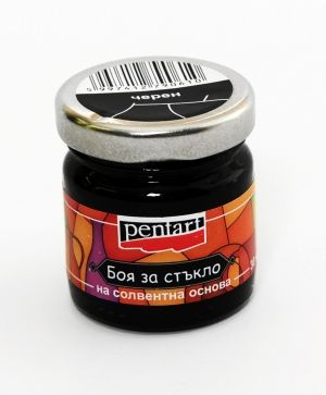 Glass paint 30ml - black P0784